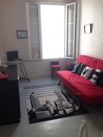 Appartement centre ville de 28m2 - Saintes - Huoneisto