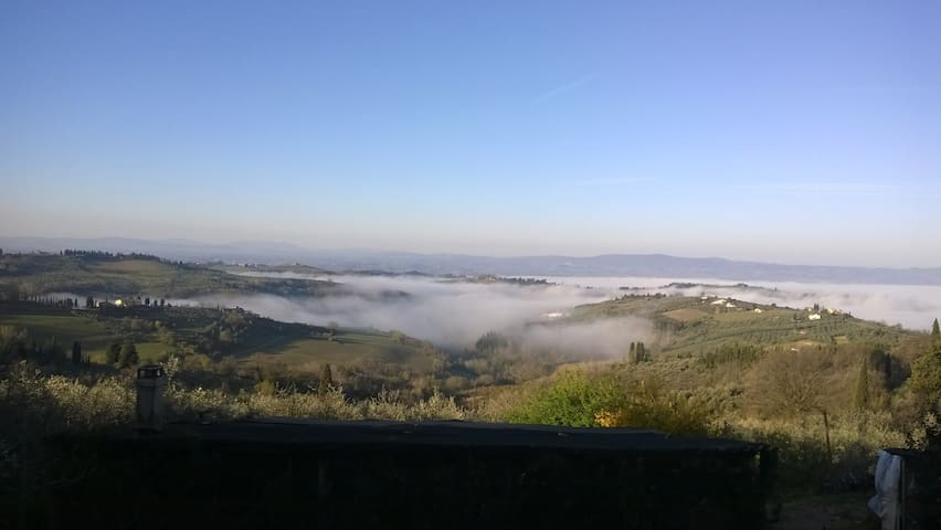 Feel like at home in Chianti - Tavarnelle - Byt