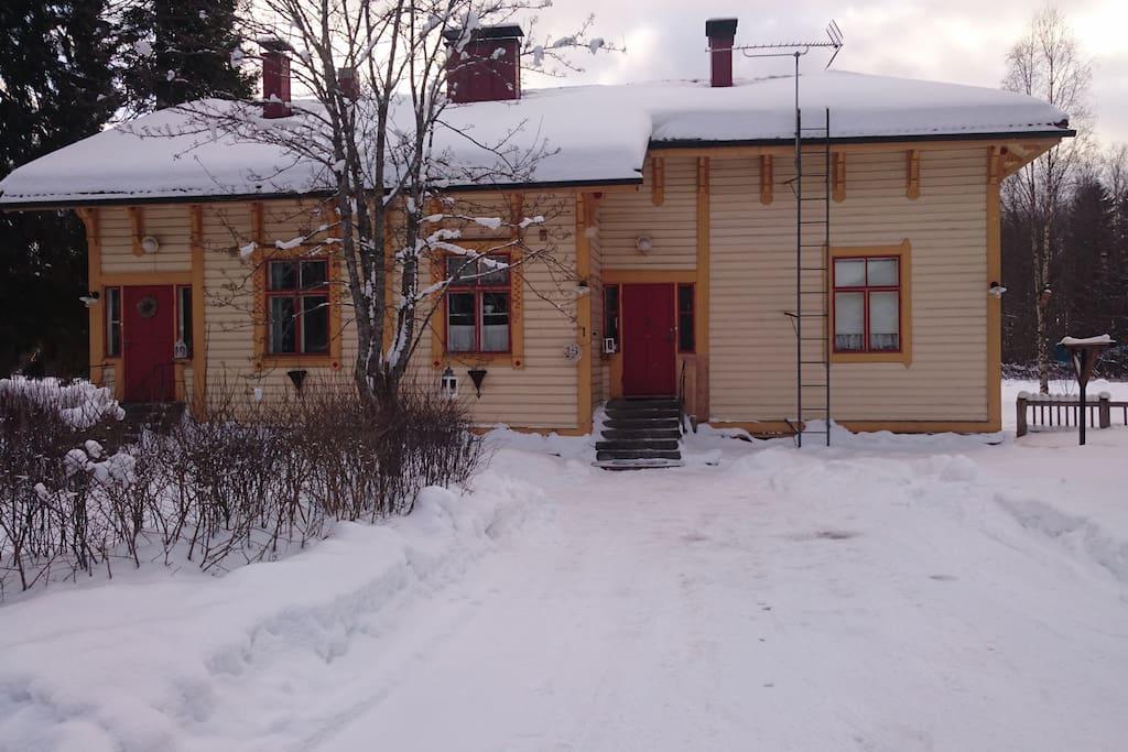 Finnish winter is beautiful