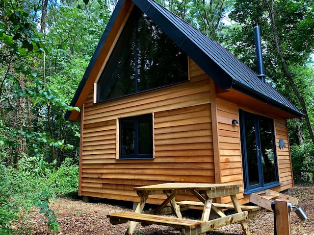 Alfriston Woodland Cabins - Badgers Rest (+dogs)