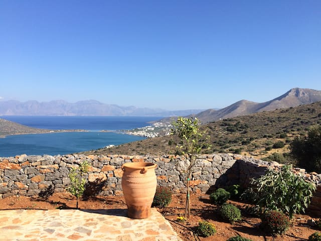 Apartment 1 with views of Elounda - Pines, Elounda - Flat