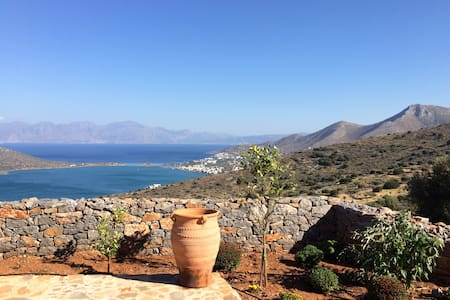 Apartment 1 with views of Elounda - Pines, Elounda