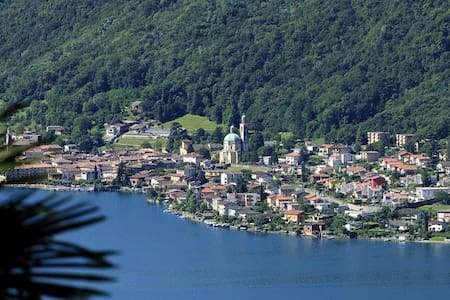 Lake view apartment on Lake Lugano - Riva San Vitale