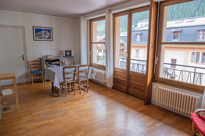 Cozy 1 bedroom apartment in central Chamonix