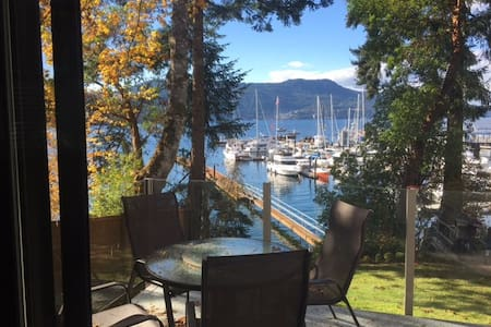 Waterfront 2 Bedroom Suite with Beach Access - Brentwood Bay - Haus