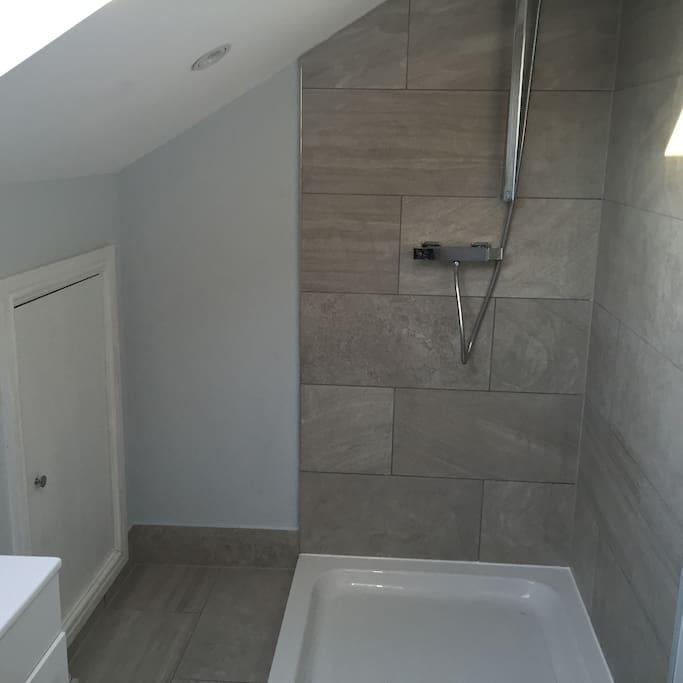 Brand new shower room