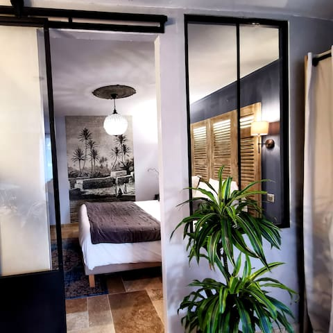 SARLAT HOUSE WITH PRIVATE PARKING AIR COND