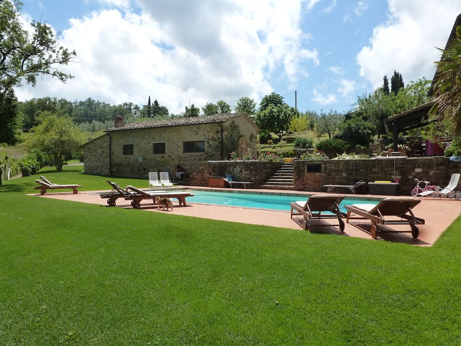 Holiday in harmony maisons louer panzano in chianti for Maison harmony