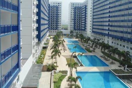 1 bdrm condo nr MOA + WiFi - Pasay City - Pis