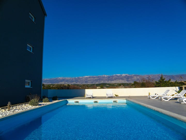 Villa AniFil - studio for 3 persons with big pool