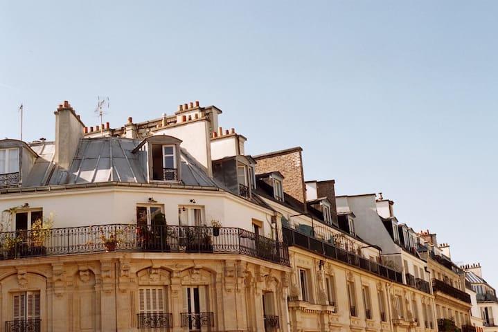Luxury Republique Apartment 70sqm / 4-6 Guests - 巴黎 - 公寓