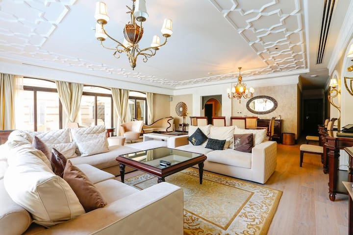 Zabeel Saray Luxury 5BR VILLA with butler