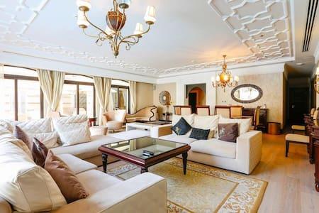 5BR villa in 5* Luxury hotel Palm Jumeirah - Dubaï - Villa