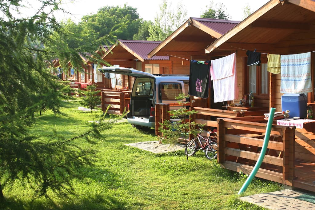 Vasskert camping chalet in affitto a sovata jude ul for Cabine della foresta lacustre