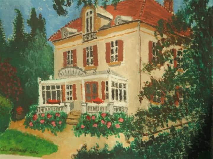 Maison d'hôtes CLOS DE CHARLIEU, chambre/room SAGA