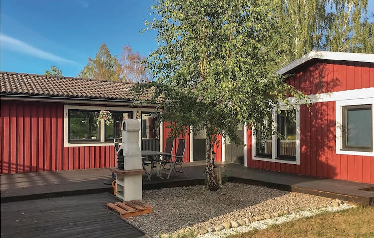 Holiday cottage with 4 bedrooms on 110m² in Björkvik