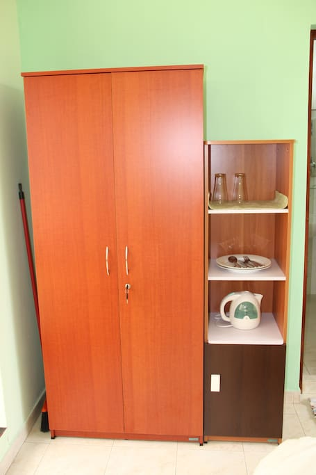 Wardrobe and other amenities