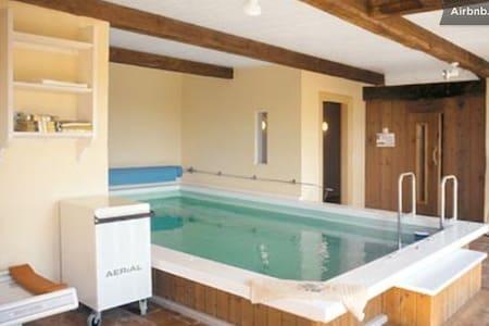 pool, sauna, whirlpool, steam bath - Hus