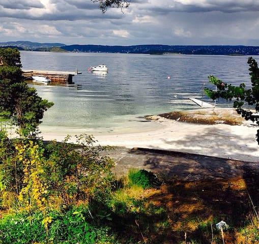 Idyllic with view to Oslo - Nesoddtangen - House