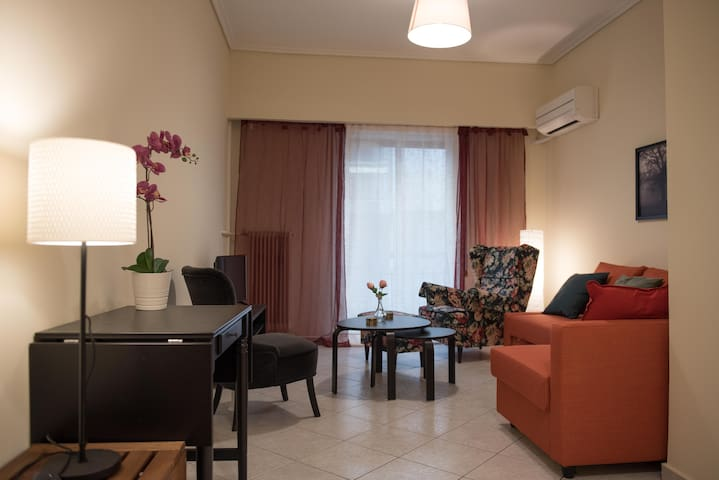 Apartment in Athens 150m from subway