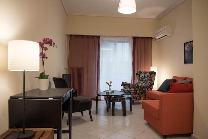 Apartment 55m in Athens 150m from subway
