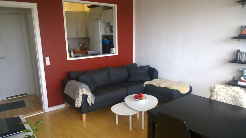 Lækker 2 værelses med altan - Aarhus - Departamento