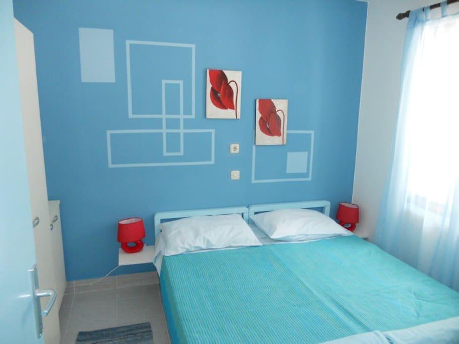 Apartsolta Blue Sea apartment Main Bedroom