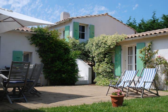 Ile de Ré - family house 12p + - Les Portes-en-Ré - Casa