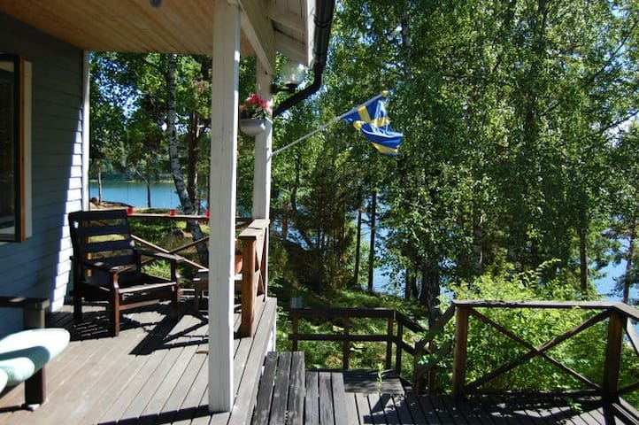 Lovely summer house on Stora Aspö  - Bergshamra