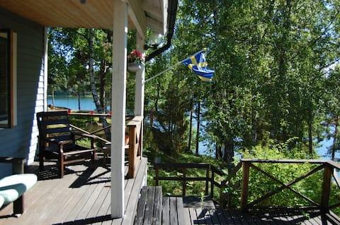 Lovely summer house on Stora Aspö