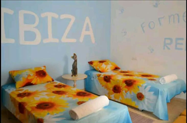 Relax room in Ibiza center
