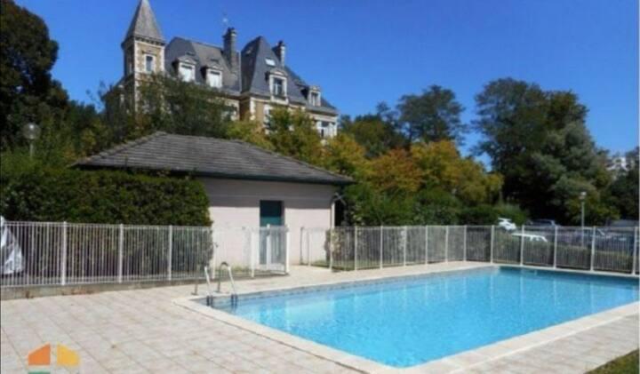 Appartement avec piscine