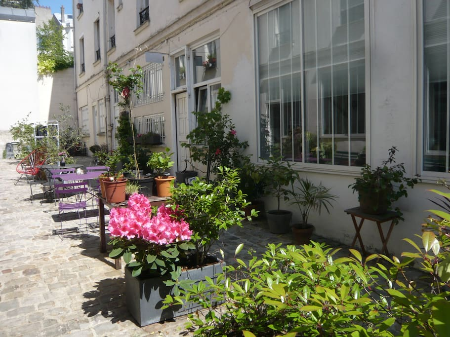Un havre de verdure au calme en plein Paris
