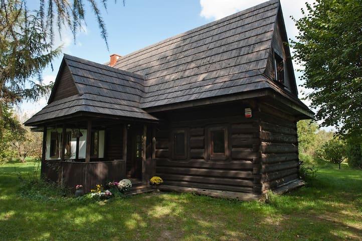 Góralski dom na Mazowszu