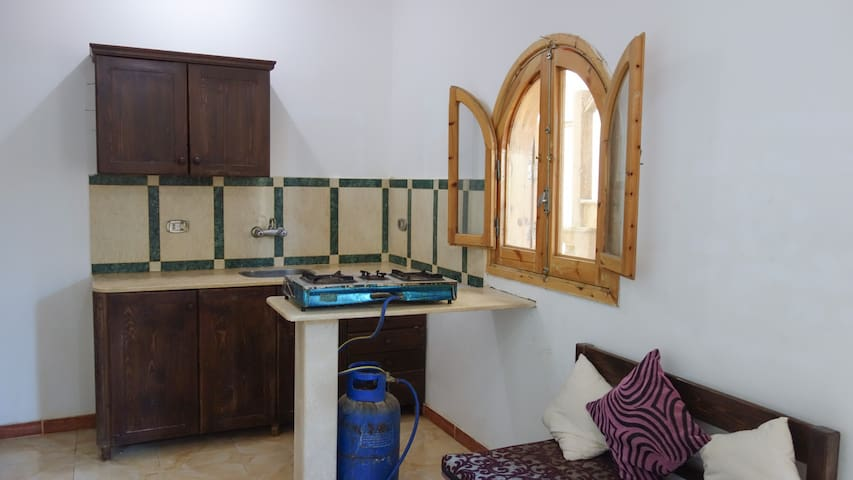 Nice & Clean Dahab Apartment  w/ Rooftop Sea View