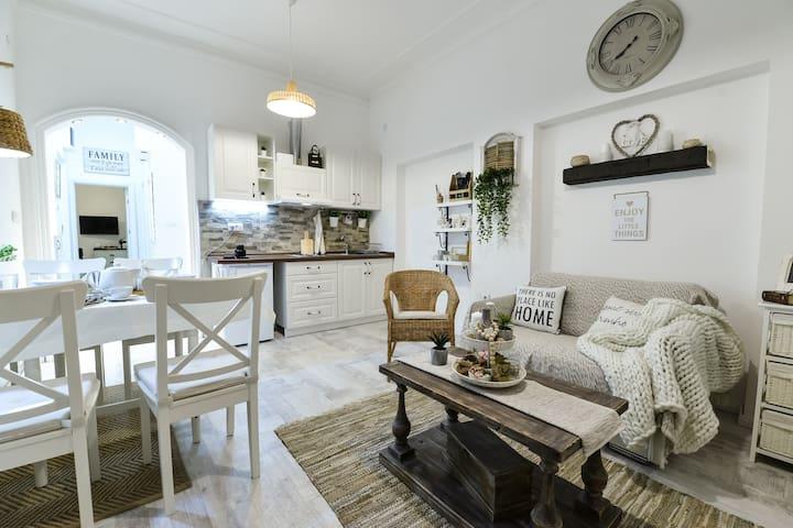 Farmhouse apartment