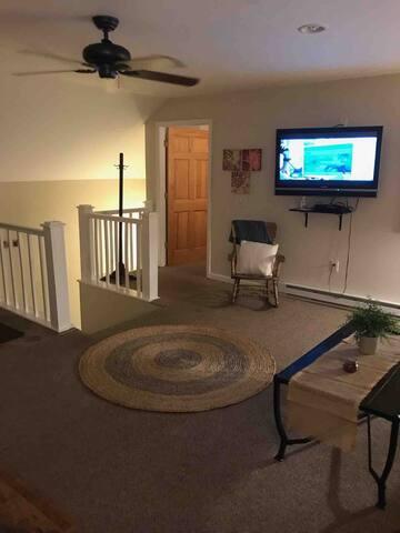 2nd floor garage apartment in Massena.