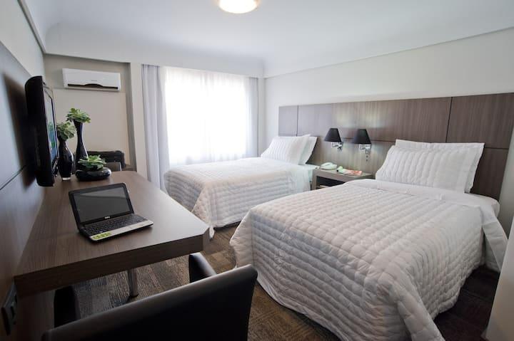 Sinta-se em casa c/conforto/segurança de hotel-Ph2
