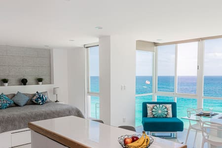 Ocean view studio/Cancun hotel zone