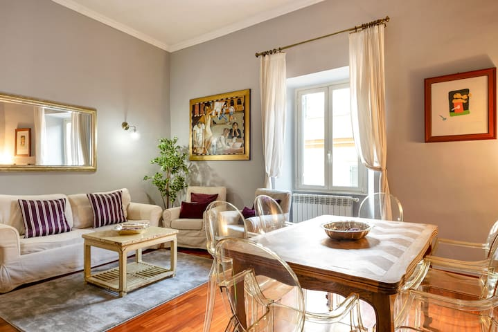 NEW LOOK! Elegant 3Beds flat near Piazza Popolo