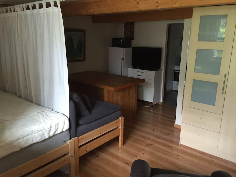 Ett rom, 20 m2 / One room 20 m2
