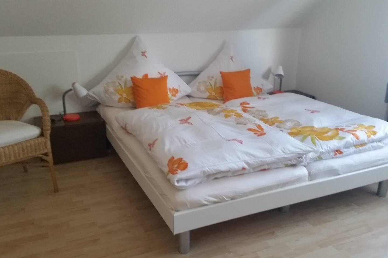 Doppelbett zum ausruhen und erholen