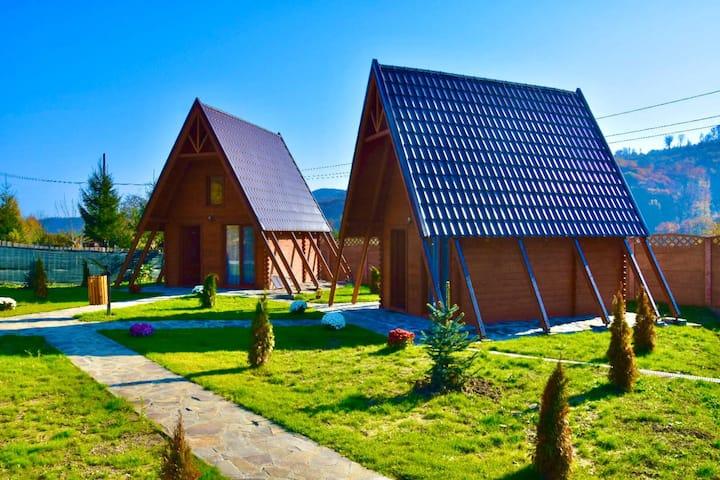 Cozy cabin by the pond - Căbănuța Șoimul