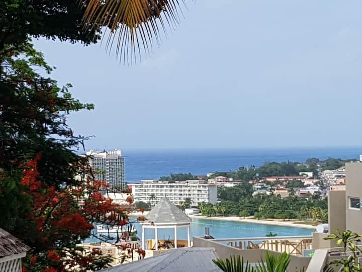 Ocean view city center luxury condo!