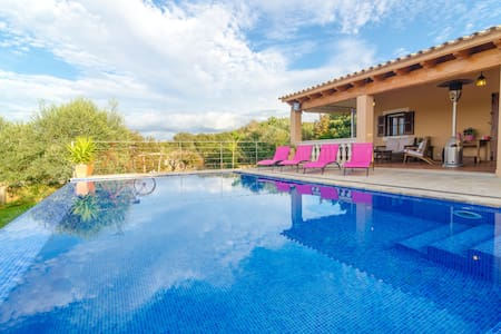 Can Roca - nice villa with pool - Costitx - 独立屋
