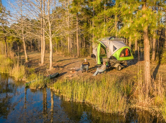 Private Group Camping at Hidden Lake