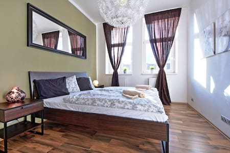 Apartment for 6 Adults close to Wenceslas Square (AL8) - Prag - Wohnung