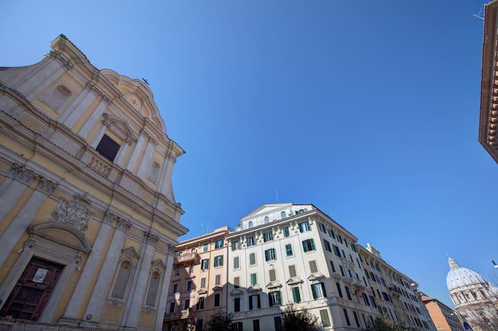 Nice & bright apt in St. Peter  - Roma - Pis