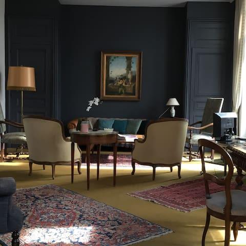 Étage d'un hôtel particulier; splendide logement