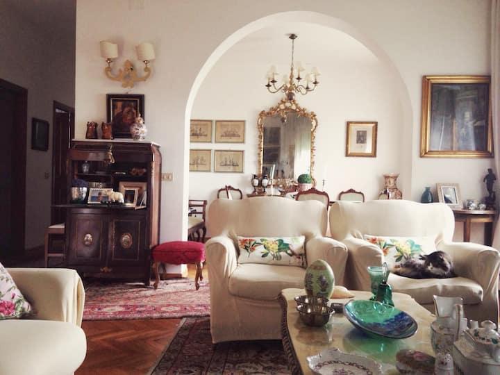 Cortona, wonderful house with stunning view